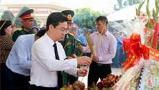 Tỉnh Kiên Giang tổ chức Lễ truy điệu và an táng 66 hài cốt liệt sĩ tại Nghĩa trang liệt sĩ huyện Hòn Đất