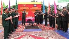 Khởi công xây dựng Khu lưu niệm Sở Chỉ huy Mặt trận 579/QK5 tại tỉnh Stung-Treng (Campuchia)