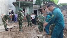 Ban CHQS huyện Cẩm Giàng/Bộ CHQS tỉnh Hải Dương tổ chức khởi công xây dựng nhà tình nghĩa
