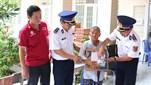 Bộ Tư lệnh Vùng Cảnh sát biển 3 tổ chức khám bệnh, cấp thuốc miễn phí, tặng quà đối tượng chính sách tại huyện Đất Đỏ, tỉnh Bà Rịa - Vũng Tàu