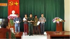 Ban CHQS huyện Ngân Sơn/Bộ CHQS tỉnh Bắc Kạn tổ chức chi trả trợ cấp một lần theo Quyết định 49/2015/QĐ-TTg của Thủ tướng Chính phủ