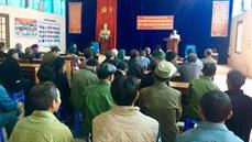 Ban CHQS huyện Si Ma Cai/Bộ CHQS tỉnh Lào Cai chi trả trợ cấp đối với đối tượng tham gia kháng chiến