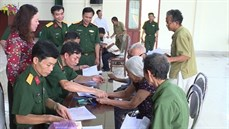 Ban CHQS huyện Gia Viễn/Bộ CHQS tỉnh Ninh Bình chi trả trợ cấp một lần đối với đối tượng tham gia dân công hỏa tuyến