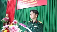 Ban CHQS huyện Tiên Du/Bộ CHQS tỉnh Bắc Ninh chi trả trợ cấp một lần đối với đối tượng tham gia dân công hỏa tuyến